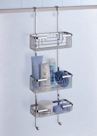 Deluxe 3 Tier Overdoor Hanging Shower Cubicle Tidy