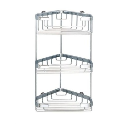 Sonia Deluxe 'Never Rust' Triple Corner Shower Caddy