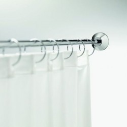 Spirella Universal Shower Rail System - Polished Stainless Steel