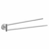 Eros Double Swing Towel Rail