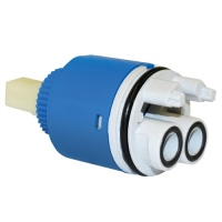 35mm Replacement Open Outlet Ceramic Disk Tap Cartridge