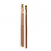 Copper Tap Tails (Pair) - 8mm Threads