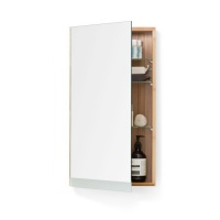 Arena 700 Bamboo Single Door Cabinet