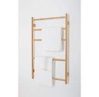 Arena Bamboo Wall Bar Towel Ladder