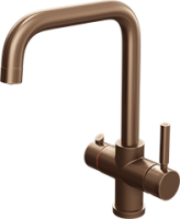 Amanzi Brushed Copper - 3 in 1 Boiling Hot Water Tap