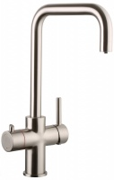 Amanzi Brushed Nickel - 3 in 1 Boiling Hot Water Tap