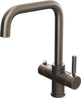 Amanzi Gun metal - 3 in 1 Boiling Hot Water Tap