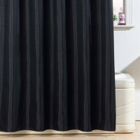 Diamond Black Shower Curtain