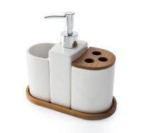 Aria 4 Piece Bathroom Accessory Set