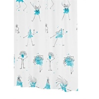 Bazil - The Fun, Funky Shower Curtain
