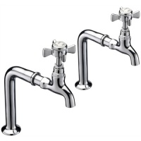 York Pillar Taps on Stands