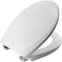 The S8055 Tecnoplast  Non Loosening Toilet Seat - White