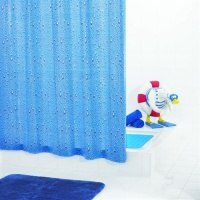 Waterdrops Shower Curtain
