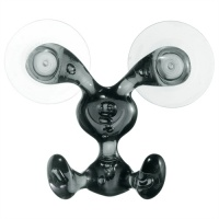 Bunny Wall Hook - Black
