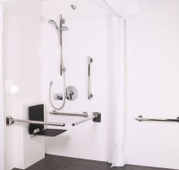 Luxury Concealed Valve Doc M shower pack - with slimline seat