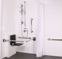 Luxury Exposed Valve Doc M shower pack - with slimline seat