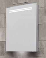 Space II LED Illuminated Single Door Cabinet 50