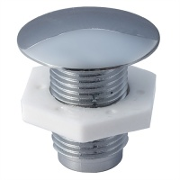 Standard Cistern Hole Stopper - In Chrome or Gold Finishes
