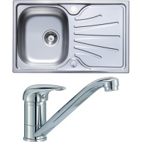 The Hafele Compact Sink & Tap Pack