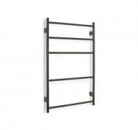Wall Bar Towel Ladder - Dark Oak