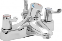 Lever Action Thermostatic Bath Shower Mixer (TMV2 Safety)