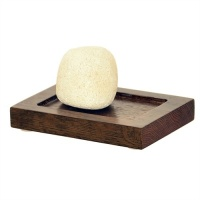 Mezza Dark Oak Soap Tray