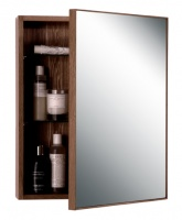 Mezza Slimline Dark Oak '550' Bathroom Cabinet