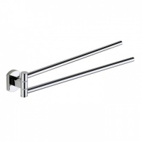 Edera Double Swing Towel Rail