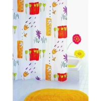 Fiori Luxury Textile Shower Curtain