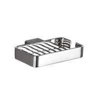 Lounge Soap Basket - Chrome