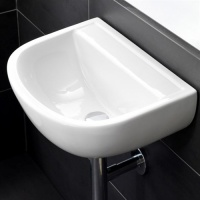 Hospital 50 HTM64 'No Tap Hole' Wall Basin