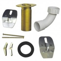 Compact Horizontal Waste Outlet Fixing Kit - Compact HTM64 Basins