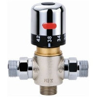 Inline/Panel Mounted Thermostatic Blending Valve