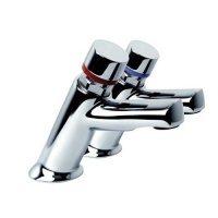 Inta Contemporary Non Concussive Basin Taps (Pair)