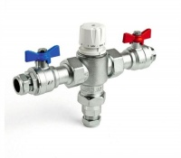 IntaMix Pro-V High Volume Thermostatic Safeguard Mixing Valve - 22mm Size