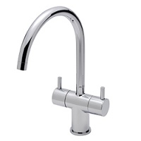 Krono Twin Handle Kitchen Tap