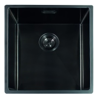 Miami Kitchen Sink 50 x 40 - Gun Metal