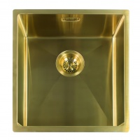 Miami Kitchen Sink 50 x 40 - Gold Finish