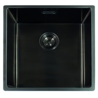 Miami Kitchen Sink 40 x 40 - Gun Metal Finish