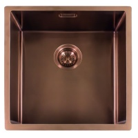 Miami Kitchen Sink 40 x 40 - Copper Finish