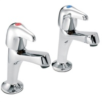 Performa Leger Utility High Neck Sink Taps (Pair)