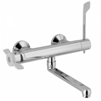 Ability Wall Mounted Thermostatic Kitchen Sink Mixer