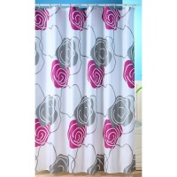 Metallics Shower Curtain - Plum
