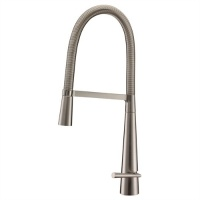 Monte Carlo Pull Out Sink Tap - Brushed Finish
