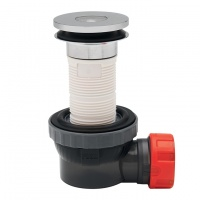 Nano 6.7 All in One Basin Waste & Trap - 100mm