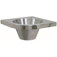 Euro Stainless Corner Fitting Wash Basin