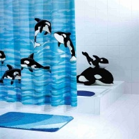Orka Fun Shower Curtain