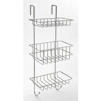 hanging shower baskets caddies overdoor caddies. Black Bedroom Furniture Sets. Home Design Ideas