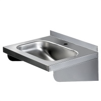Pland Stainless 'No Overflow' Rectangular Handrinse Basin