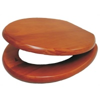 Premier Wooden Toilet Seat - Antique Pine